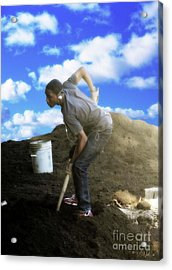 In Search Of The American Dream Acrylic Print by Walter Oliver Neal