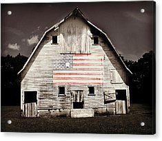 The American Farm Acrylic Print