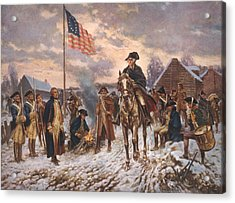 The American Revolution, George Acrylic Print