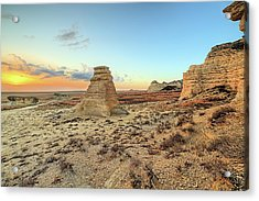 Acrylic Print featuring the photograph The American West by JC Findley