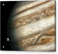 The Ancient Dance Of Europa And Jupiter Acrylic Print