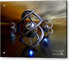 The Ancient Ones Acrylic Print by Alexander Butler