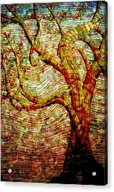 The Ancient Tree Of Wisdom Acrylic Print