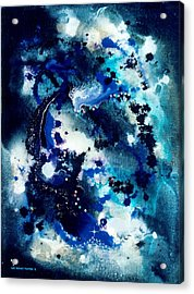The Angel Horses Acrylic Print by Lee Pantas