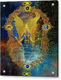 The Angel Michael Acrylic Print