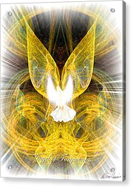 The Angel Of Forgiveness Acrylic Print