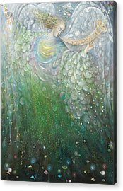 The Angel Of Growth Acrylic Print
