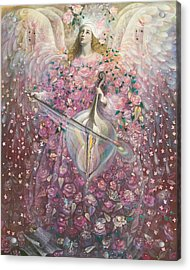 The Angel Of Love Acrylic Print