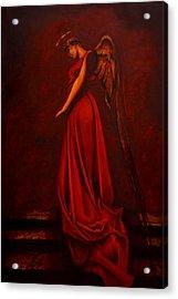 The Angel Of Love Acrylic Print