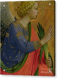 The Angel Of The Annunciation Acrylic Print by Fra Angelico