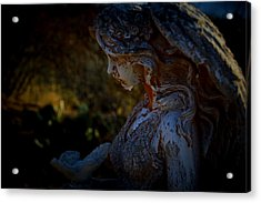 The Angel Of The Grove Acrylic Print