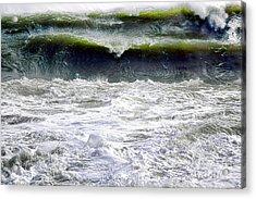 The Angry Sea Acrylic Print