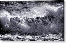The Angry Wave Acrylic Print by Olivier Le Queinec