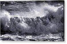The Angry Wave Acrylic Print