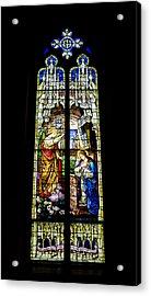 The Annunciation - St Mary's Church Acrylic Print