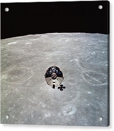 The Apollo 10 Command And Service Acrylic Print by Stocktrek Images