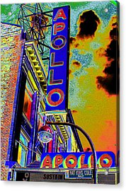 The Apollo Acrylic Print by Steven Huszar