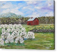 The Apple Farm Acrylic Print