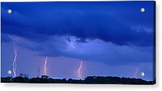 The Approching Storm Acrylic Print by Mark Fuller