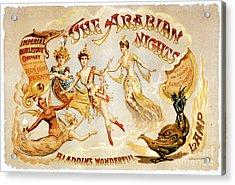 The Arabian Nights Burlesque Acrylic Print