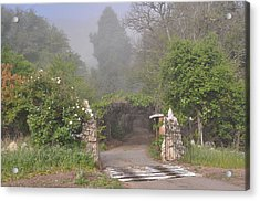 The Arbor In The Morning Acrylic Print