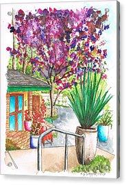 The Arboretum Gift Shop In Arcadia-california Acrylic Print by Carlos G Groppa