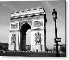 The Arc Di Triomph Acrylic Print