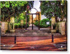 The Arch 4 University Of Georgia Arch Art Acrylic Print