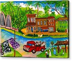 The Arch Bridge Acrylic Print by Lydia Matias