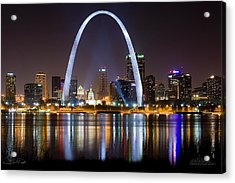 The Arch Acrylic Print by Shane Psaltis