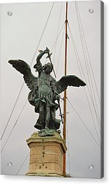 The Archangel Michael Acrylic Print by JAMART Photography