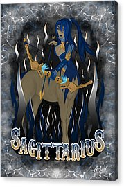 The Archer Sagittarius Spirit Acrylic Print