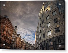 The Architecture Of Vienna  Acrylic Print by Carol Japp