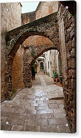 The Archways Of Villecroz Acrylic Print by Jacqi Elmslie
