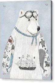 The Arctic Explorer Acrylic Print