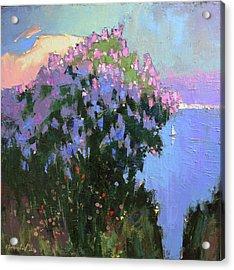 Acrylic Print featuring the painting The Aroma Of Wandering by Anastasija Kraineva