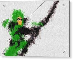 The Arrow Of Justice Acrylic Print