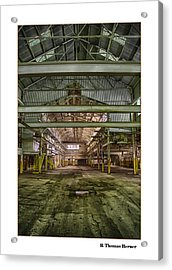 The Arrow Acrylic Print