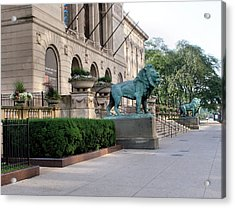 The Art Institute Of Chicago - 3 Acrylic Print