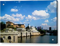 The Art Museum Acrylic Print by Andrew Dinh