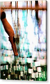 The Art Of Diving 2 Acrylic Print