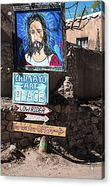 The Art Place In Chimayo Acrylic Print