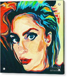 The Artist- Lady Gaga Acrylic Print