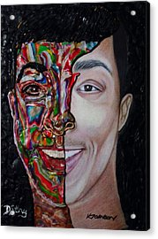 The Artist Within Acrylic Print