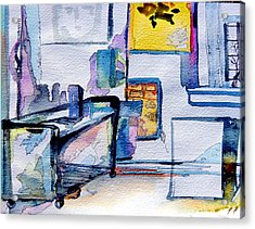 The Artists Studio Acrylic Print by Mindy Newman