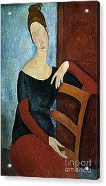 The Artist's Wife Acrylic Print by Amedeo Modigliani
