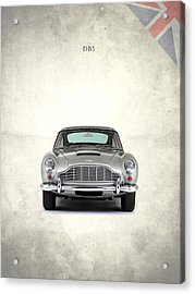 The Aston Martin Db5 Acrylic Print by Mark Rogan