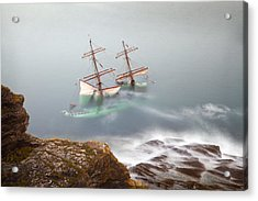The Astrid Goes Aground Acrylic Print
