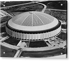 The Astrodome Aka The Eighth Wonder Acrylic Print by Everett