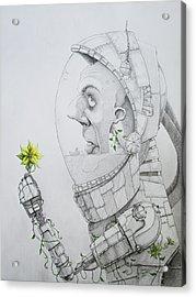 The Astronaut Acrylic Print
